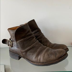 Leather boots in size 10.5 by Fiorentini + Baker